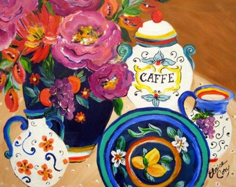 Original Painting 16 x 20 art by Elaine Cory Canvas Art