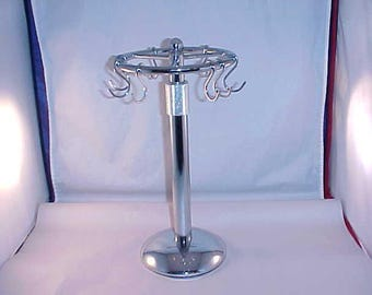 Vintage Chrome Telescoping Counter Display for Jewelry / Craft Fair Display / Flea Market Display / Craft Show Display