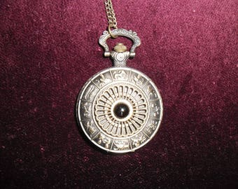 "Pocket Watch steampunk ""zodiac"""