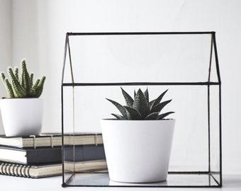 Glass Terrarium - House
