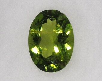 Oval Peridot Loose Stone 11x8mm 2.95ct Natural Olive Green Faceted Cut Gemstone August Birthstone Jewelry Supply
