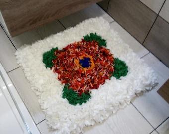 Bathroom decor, stylish, comfy, soft carpet for  bathrooms, kids room, bedroom, girl room