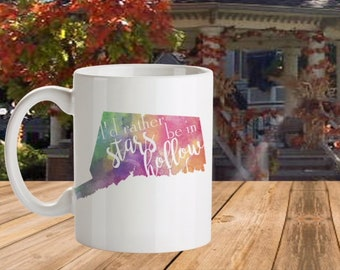 I'd Rather Be in Stars Hollow, 11 oz. Mug