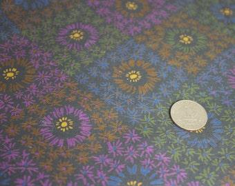 4 yards 38 wide Vintage 50s cotton floral print dress quilt fabric