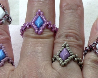 Gemduo Stackable Ring (Instant Download)