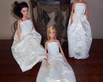 Barbie Wedding wardrobe