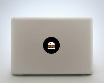 Burger Laptop Sticker Or Tablet Decal