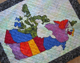 Usa patchwork map quilt pattern from quilts by elena full canada patchwork map quilt pattern from quilts by elena full sized templates and clear instructions gumiabroncs Image collections