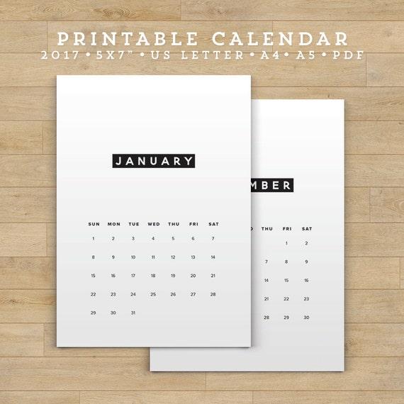 Diy Calendar Australia : Sale printable calendar minimalist planner