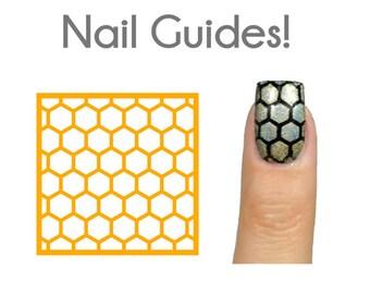 Honeycomb Vinyl Nail Guides