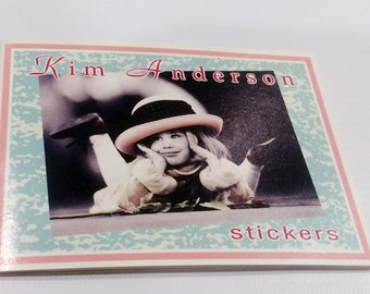 Kim Anderson stickers,made in Holland-1993