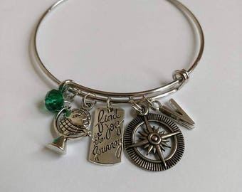 Mult. Custom Charm Bangle Bracelets (Various Themes)