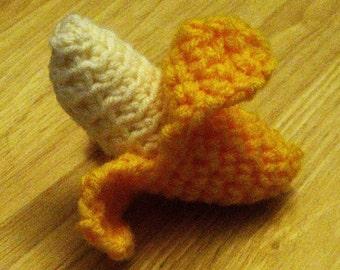 Crochet PDF Pattern- Crochet peeling Banana