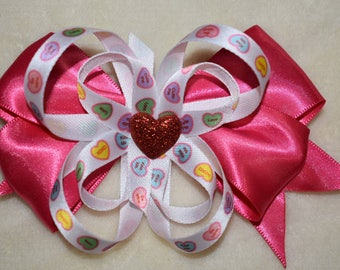 Sweetheart candy bow