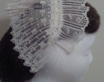Victorian Ivory Day Cap