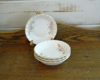 WS George Bolero Fruit Bowls - Moss Rose - 1949