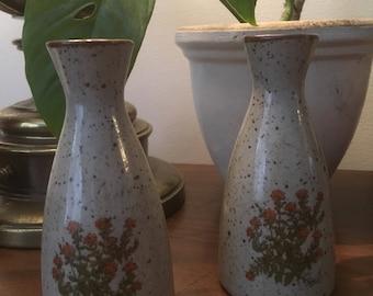 Ceramic retro plant vases for flowers or plants