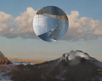 Collage Art Print  (8.5 x 11)