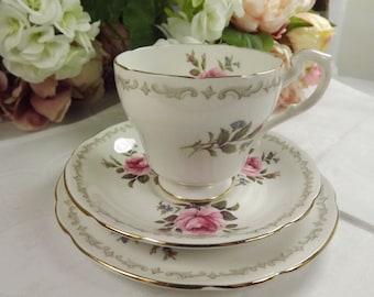 Teacup, Saucer , Plate, Royal Standard, Rosebud ( 6 available)