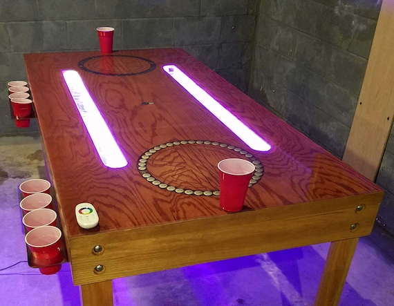 Custom Beer Pong Table Furniture Drinking Game Gaming - Custom vinyl decals for beer pong tables