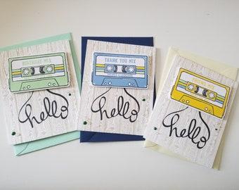 Mix Tape Card Set