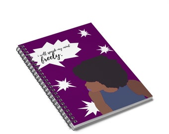 Speak Yo' Mind Spiral Notebook