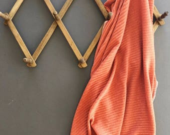 Baby Swaddle- the | Autumn | Rust Swaddle Blanket