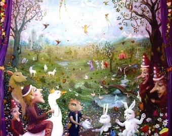 Enchantimals Fine Art Print: Enchanted Forest