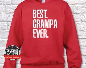 Best Grampa Ever, Grandpa Gift, Grampa Birthday, Father's Day, Grampa Hoodie, Grampa Gift Idea, Grampa Gift, Baby Shower