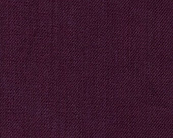 6.5 oz Sanded Brushed Cotton Twill Fabric MAROON Apparel Clothing Crafts Home Decorating