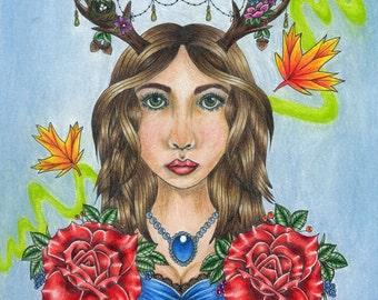 Nature Girl Print