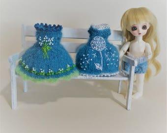 a dress for 17-20cm, Middie Blythe and similar bjd doll