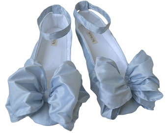 Wedding Shoes Flats For The Bride by Bobka Baby