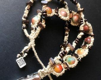 Boho roach clip bracelet, 420 gifts