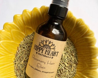Rosemary Hair treatment elixir / hair nourishing / hair shine / hair growth / scalp treatment /hair growth serum