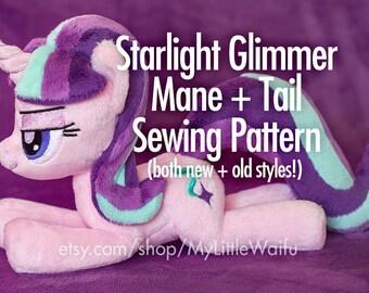 Starlight Glimmer Mane + Tail Sewing Pattern