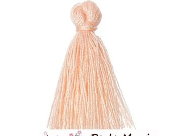 4 passementiere charm 25mm (S1164880) light pink cotton tassels