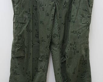 Vintage Military Issued Desert Camouflage Night Trousers
