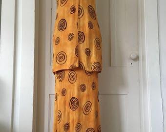 Vintage Dress/Maxi Dress/Boho Dress