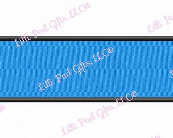 Rectangle with Border - Fill Stitch - Machine Embroidery - 8 sizes