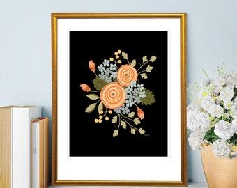 Floral Bouquet Print