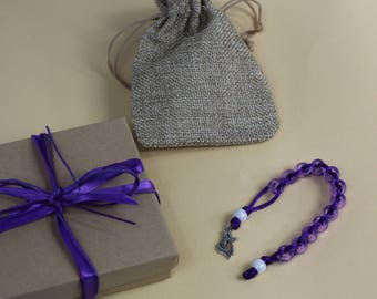 Good Deed Beads: Lent Collection - Methodist Flame Cross