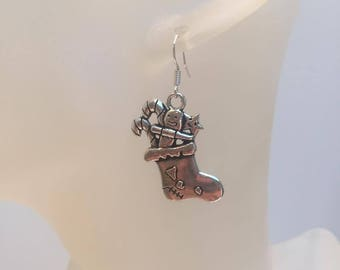 Boot charm earrings