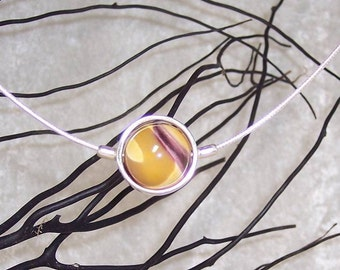 MOUKAITE Stone Sphere Necklace