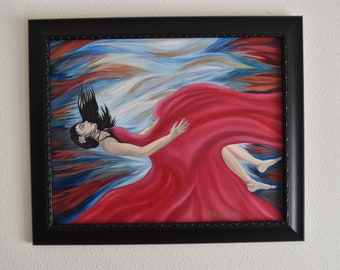 Original Oil Painting, Life's A Dream by Bethany Gonzalez