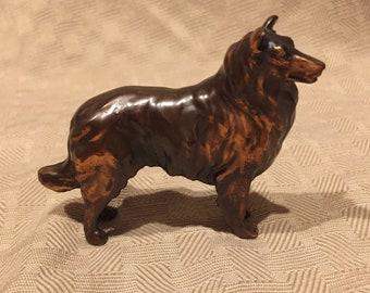 Vintage trophy craft Collie