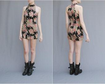 Reserved MAE.VALENTE Vintage Floral Mini Dress