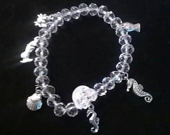 Beach Lovers Charm Bracelet