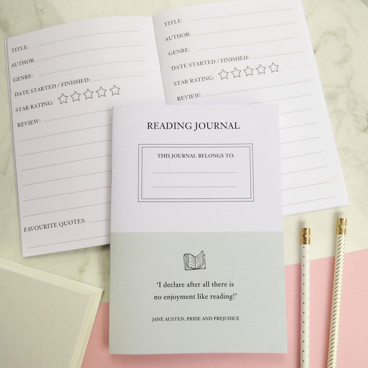 reading journal notebook book journal stationery for 🔎zoom