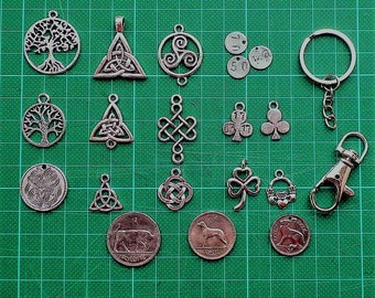 Pick and Mix, Select your Keychain, Coin and Charm.